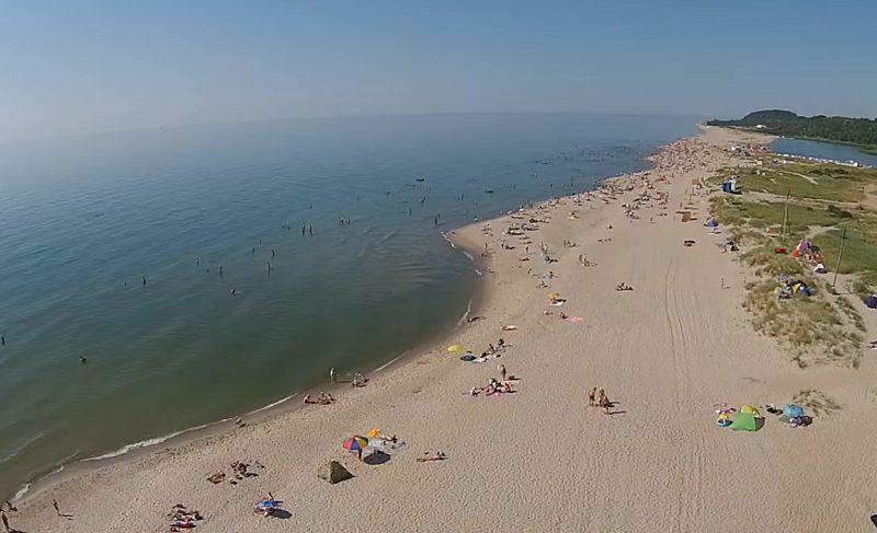 Голубой флаг получил калининградский пляж