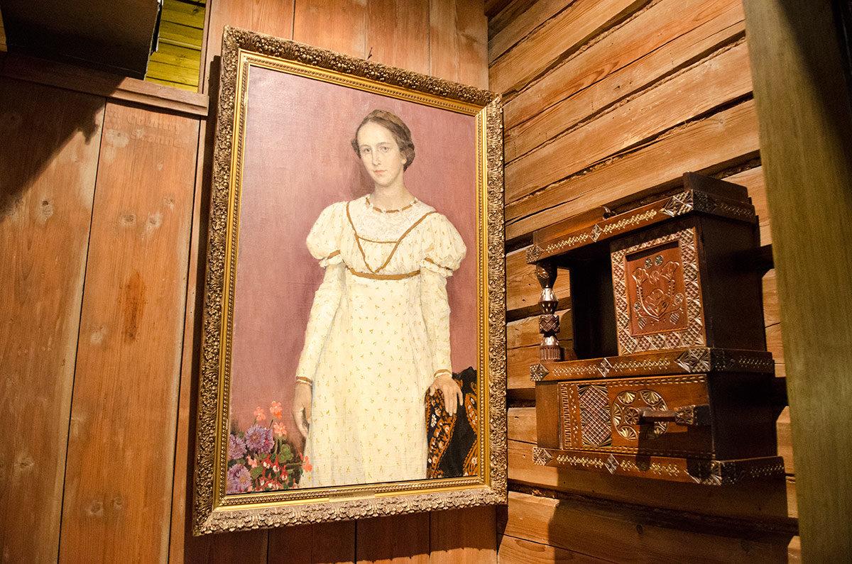 Музей Васнецова. Портрет супруги художника.