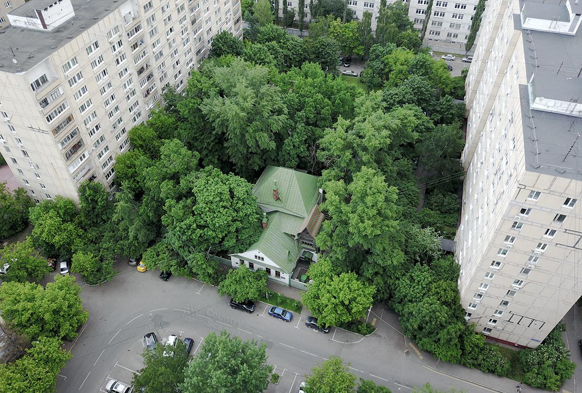 Дом-музей Васнецова. Вид сверху.