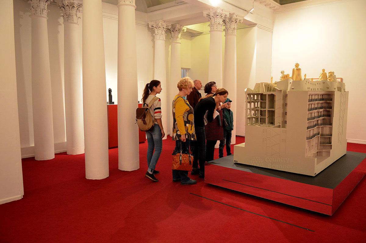 Макет дома семьи Мила (Каменоломни). Петровка 25 – музей современного искусства.
