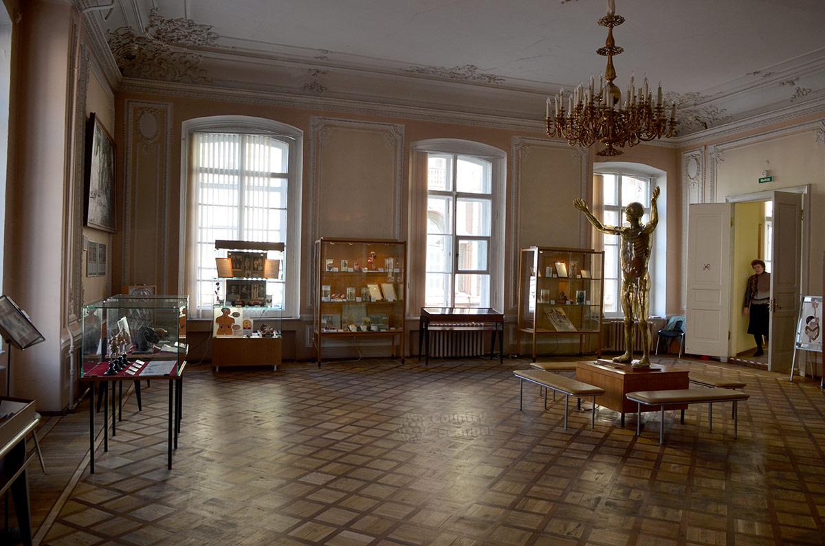 Зал репродукции человека музея гигиены,.