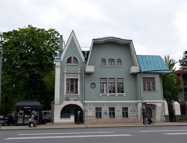 Музей серебряного века. Фасад.