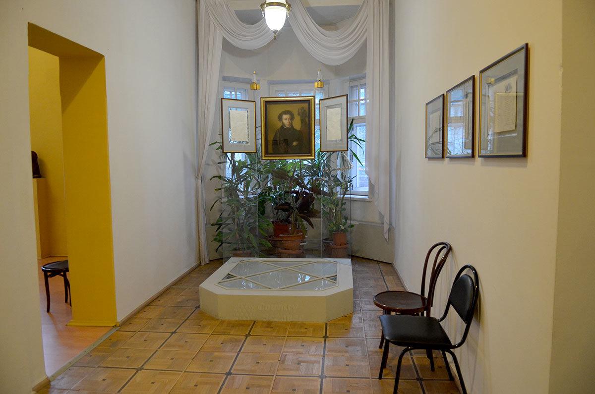Музей Серебряного века. Пушкинская экспозиция