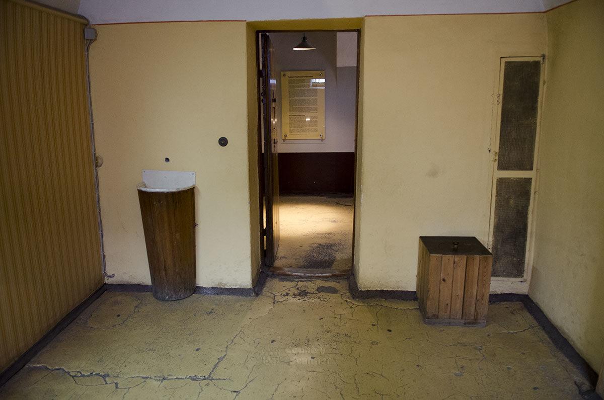 камера тюрьмы Трубецкого бастиона