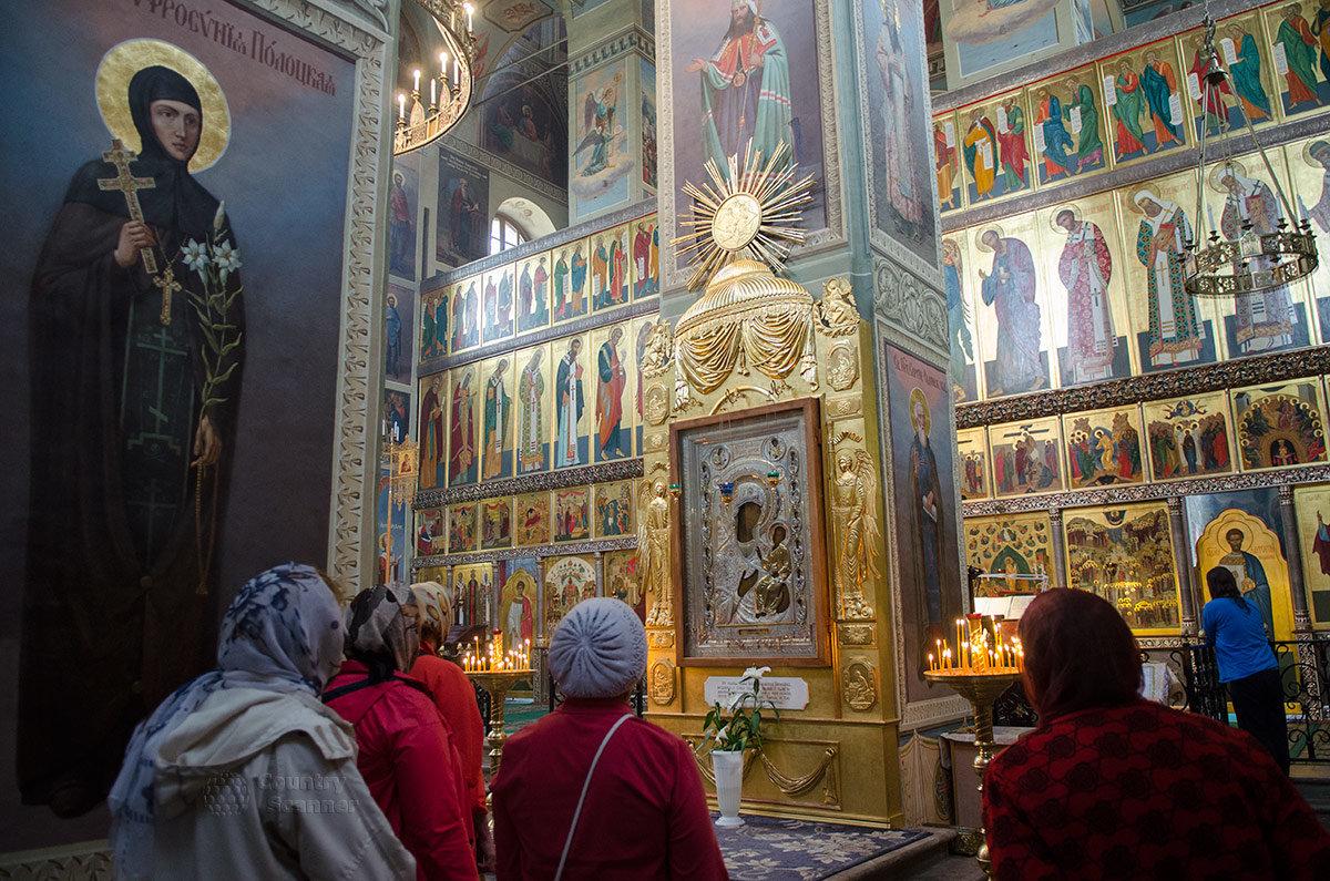 Иверский монастырь. Чудотворная икона Иверской Божьей Матери.