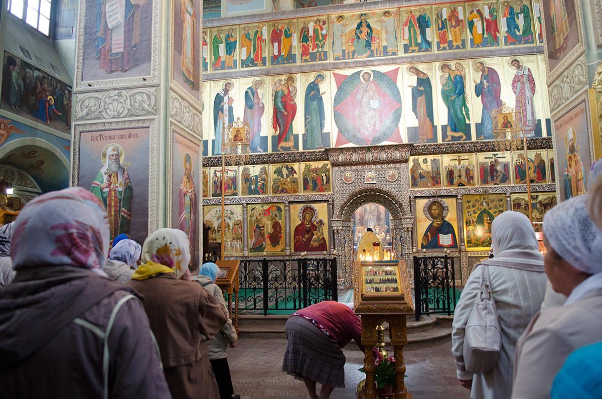 Валдайский Иверский монастырь. Алтарь