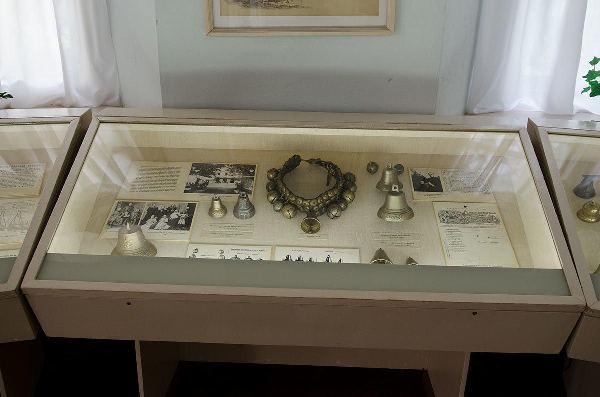 Колокола и колокольчики самых разных размеров и областей применения представлены в коллекции Валдайского музея колоколов.