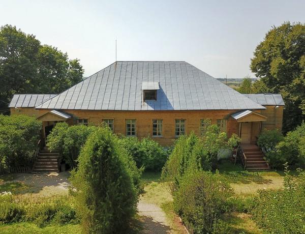 Дом Болотова в деревне Дворяниново