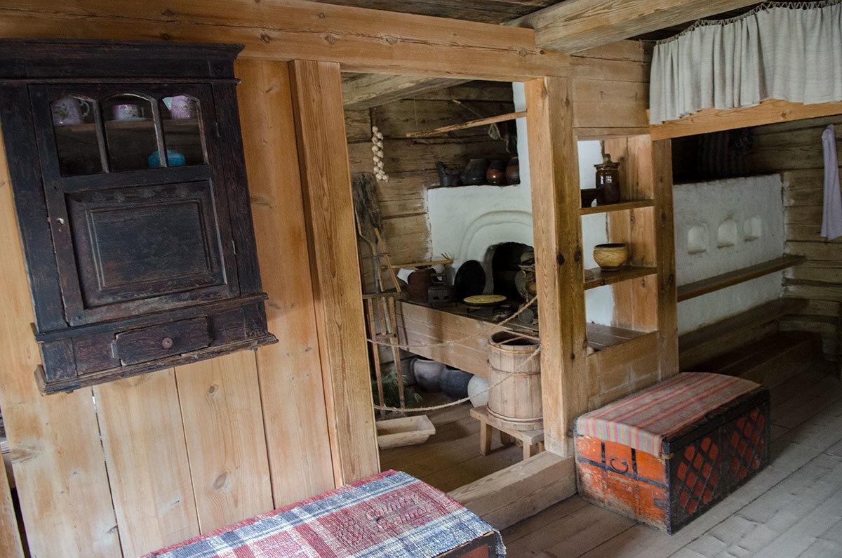 Музей Витославлицы демонстрирует роль русской печи в крестьянском жилище.