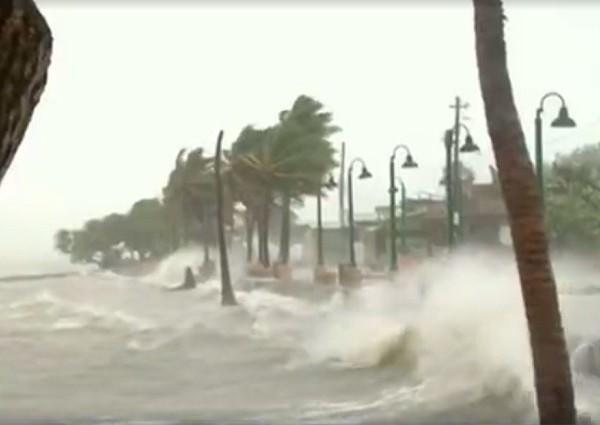 ураган Ирма на Карибских островах