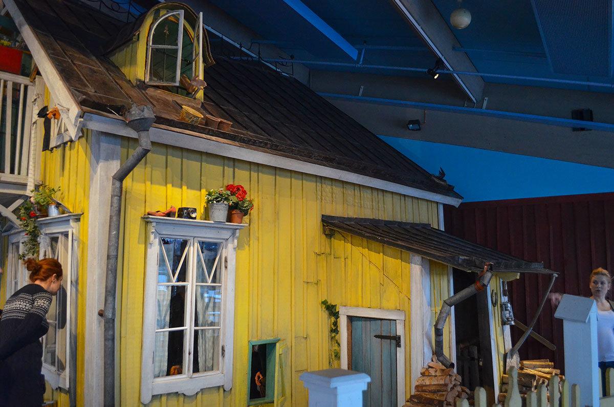 "Вилла ""Курица"" в музее Юнибакен."