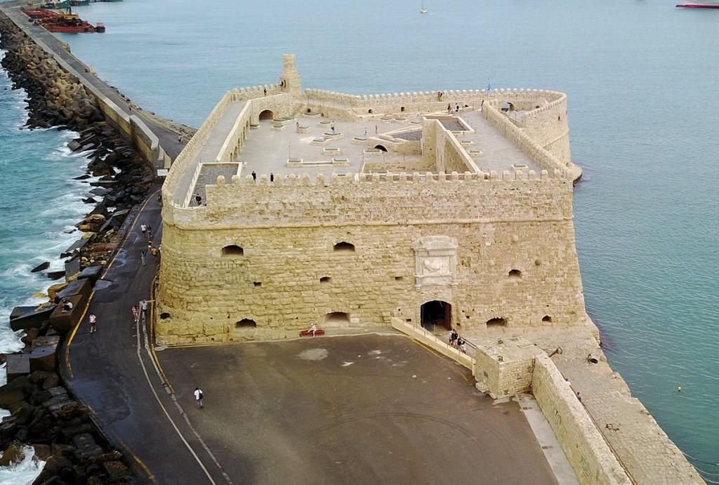 Крепость Кулес (квадрокоптер)