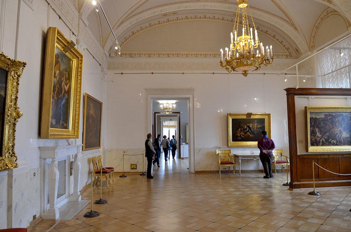 Выставочное помещение Эрмитажа