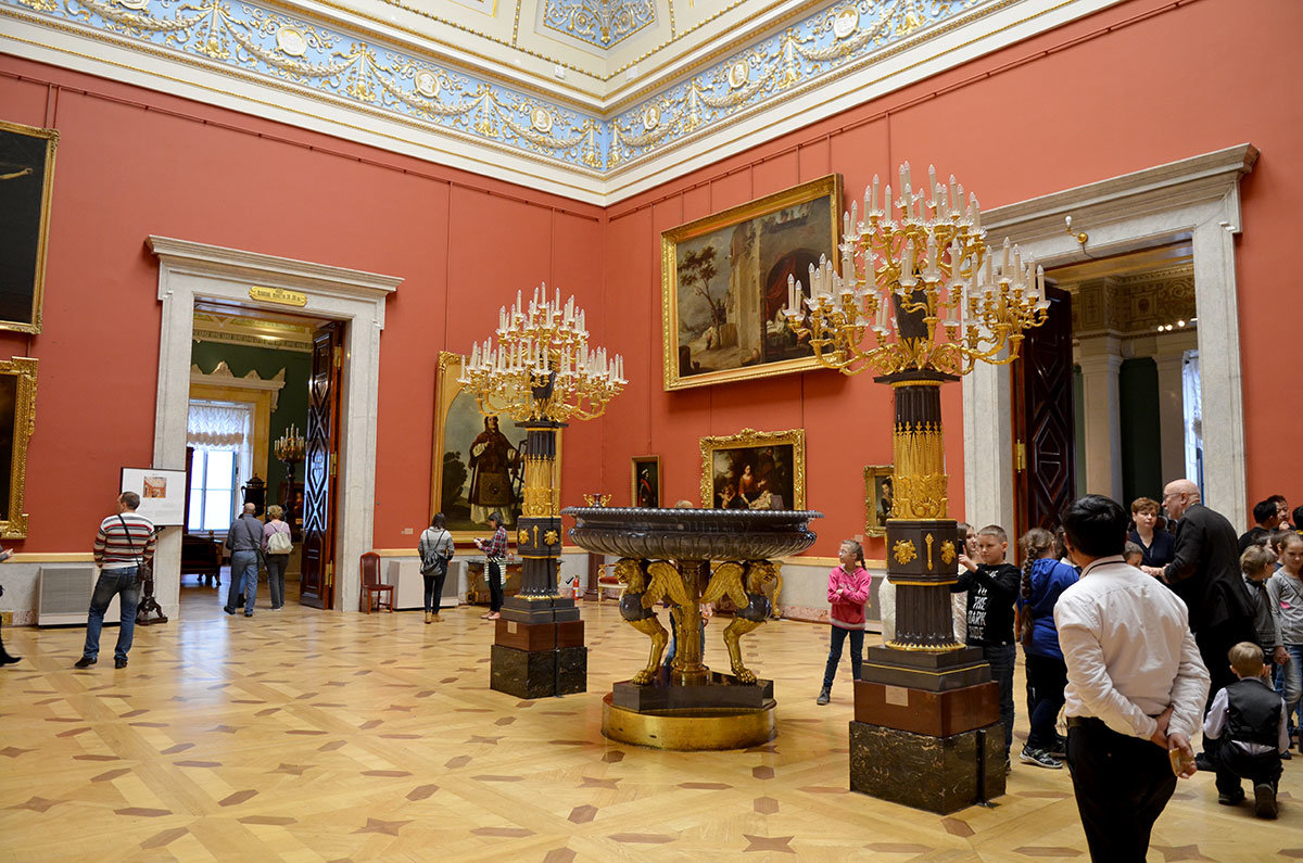 Испанский зал Эрмитажа