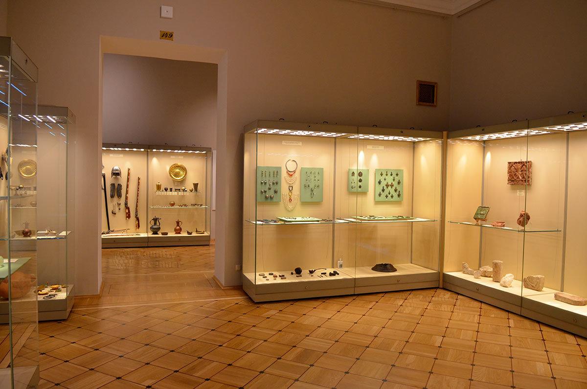 Залы и коридоры Эрмитажа