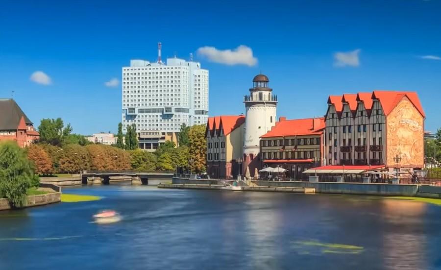 Въездной турпоток в Калининград значительно увеличился