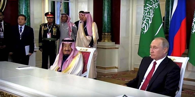 Новость 6-10-2017 Делегация короля Саудовской Аравии сделала кассу московским отелям