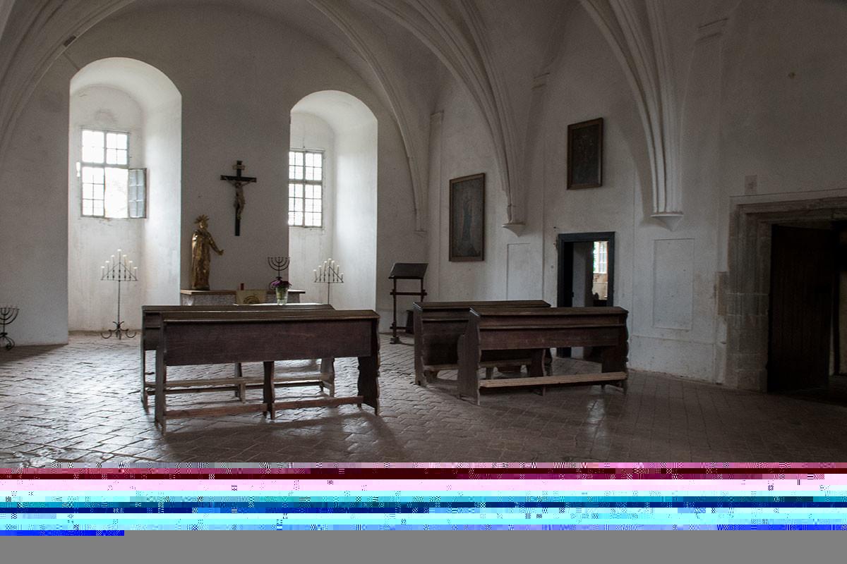 Католический костел служил крепостным храмом всем, населявшим замок Точник.