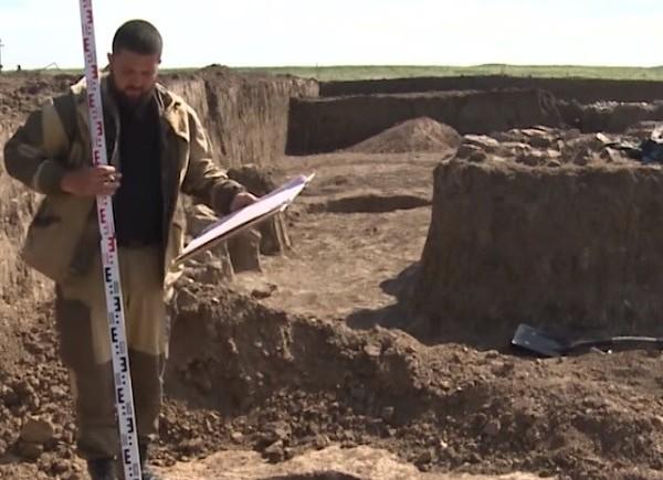 Сельская усадьба времен Римской империи. Раскопки