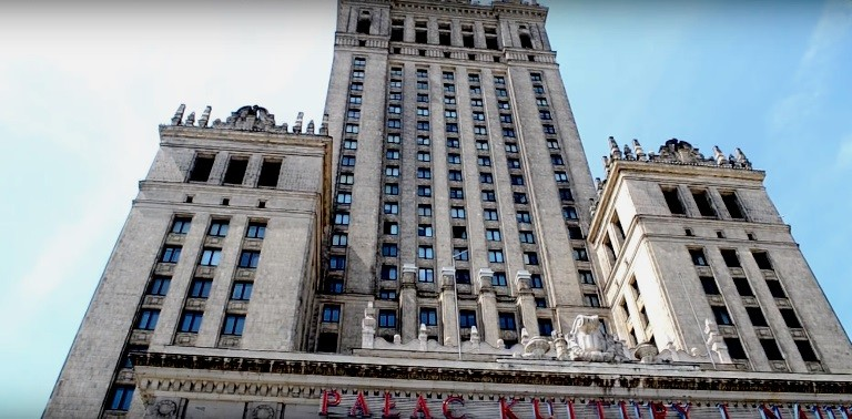 Новость 29-11-2017 Снос Дворца культуры и науки в Варшаве