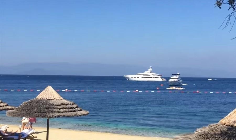 Турецкий курорт Бодрум сместился к морю из-за землетрясения