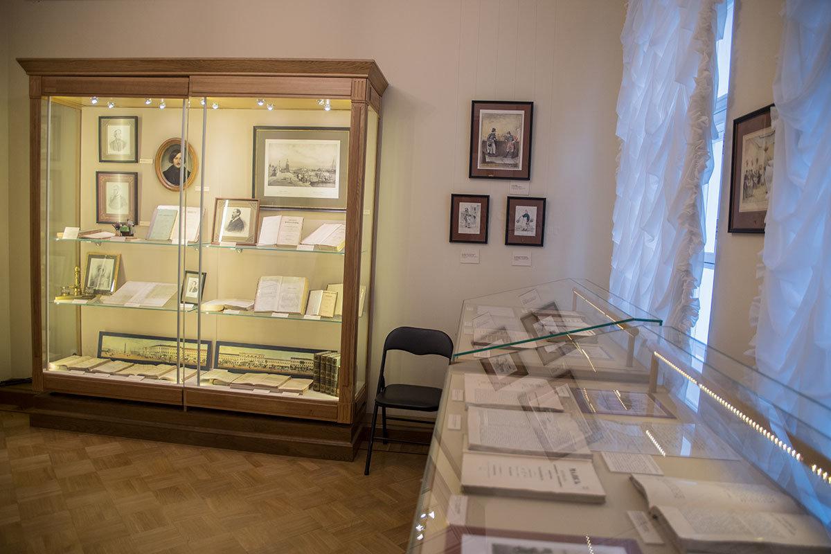 Достаточно подробно музей Герцена описывает не только его литературное творчество, но и всю писательскую среду России.
