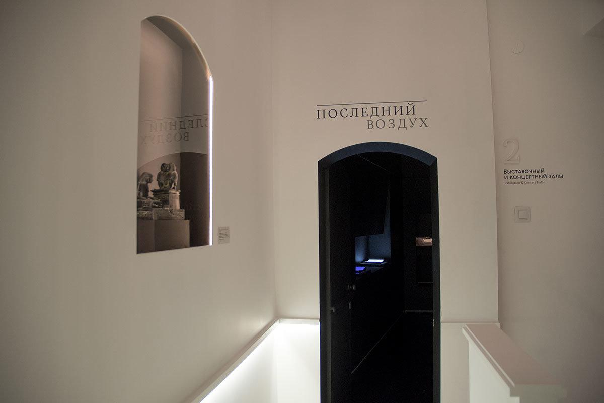 самые трагичные моменты биографии поэтессы и ее родственников музей Цветаевой отразил в разделе Последний Воздух.