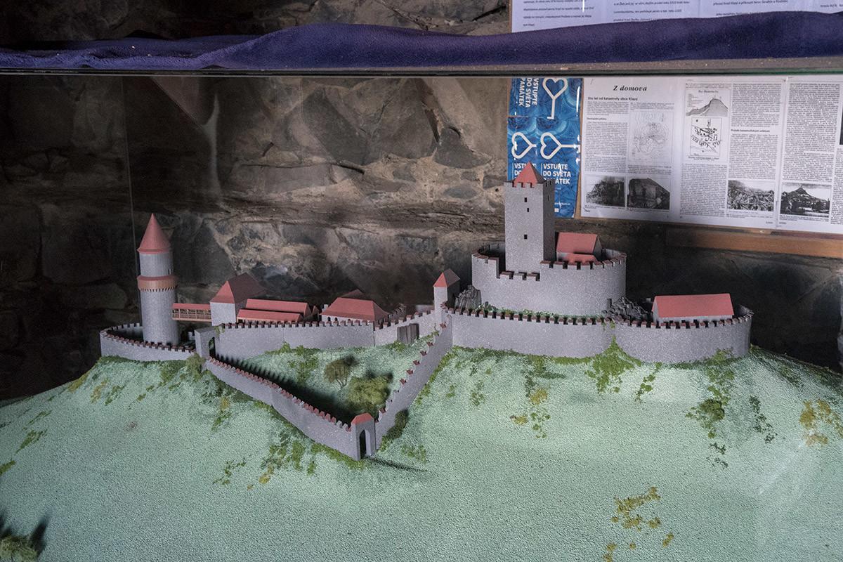 Макет замка Хазмбурк