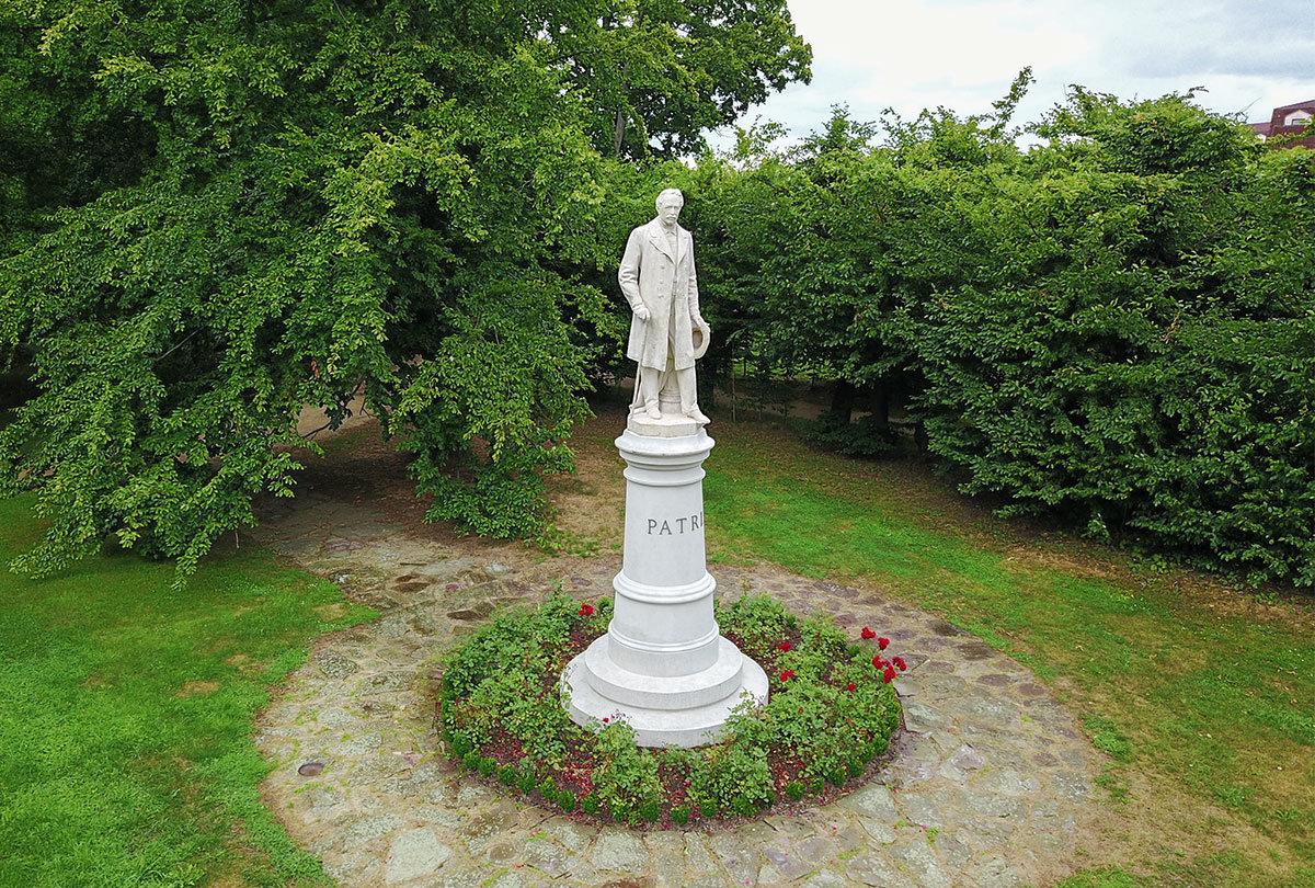 Парк замка Горжовице