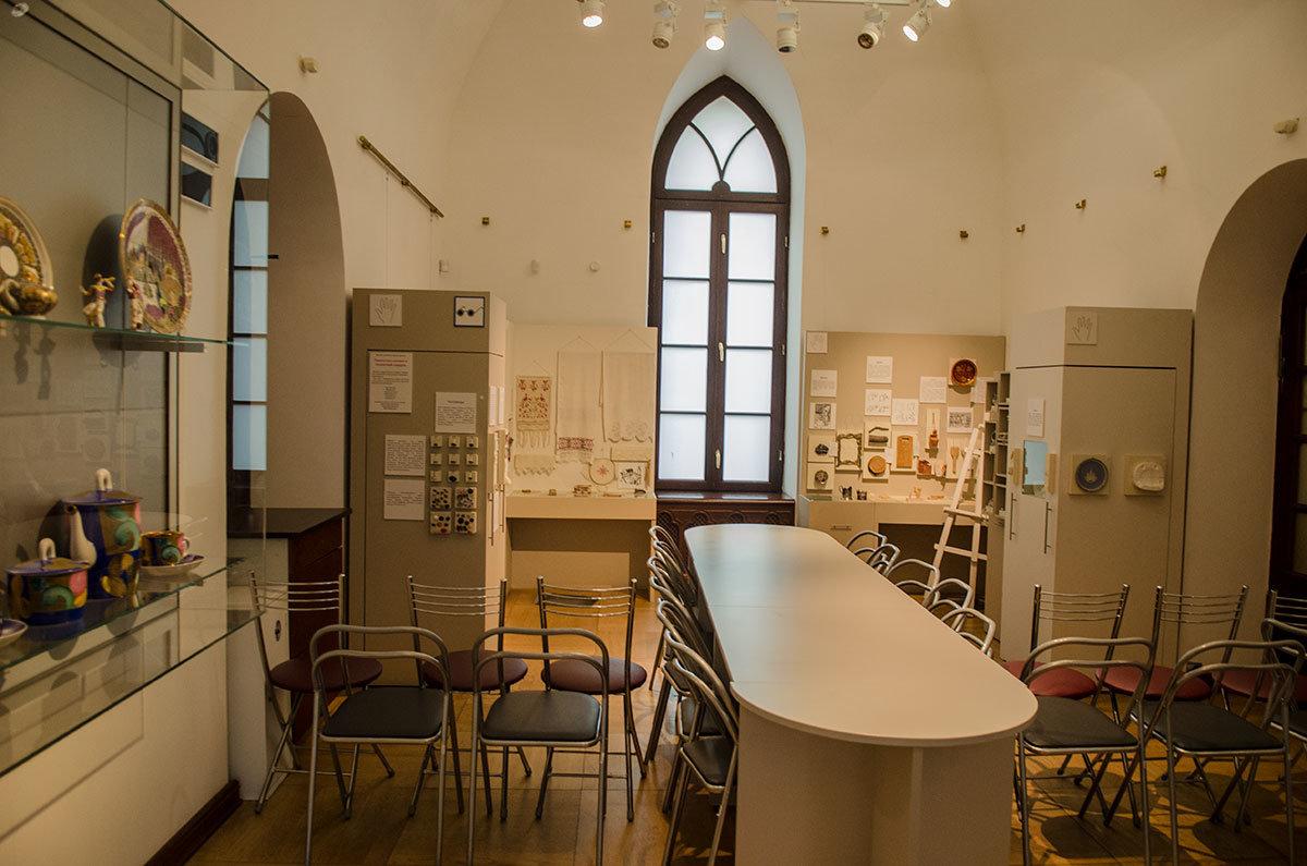 Помещения, предусмотренные в Хлебном доме для творческих занятий, принимают на мастер-классы людей всех возрастов.