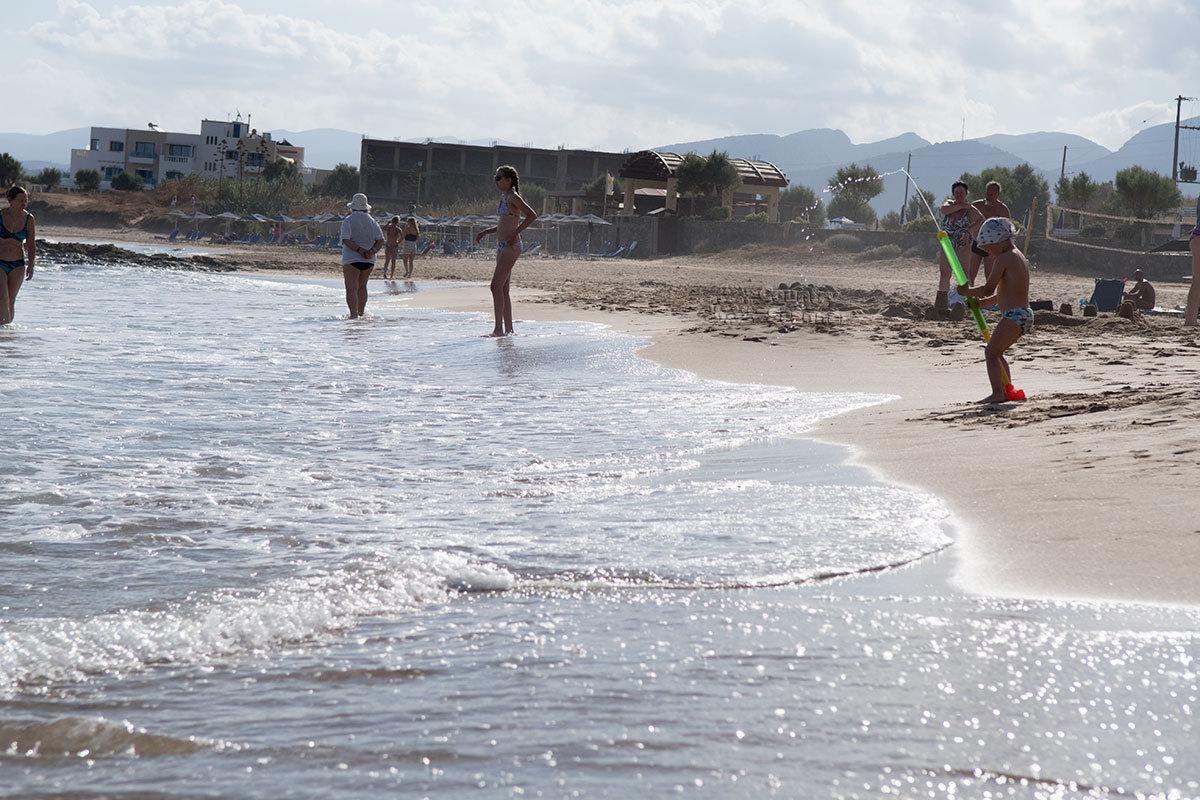 Ласковый прибой пляжа Малья