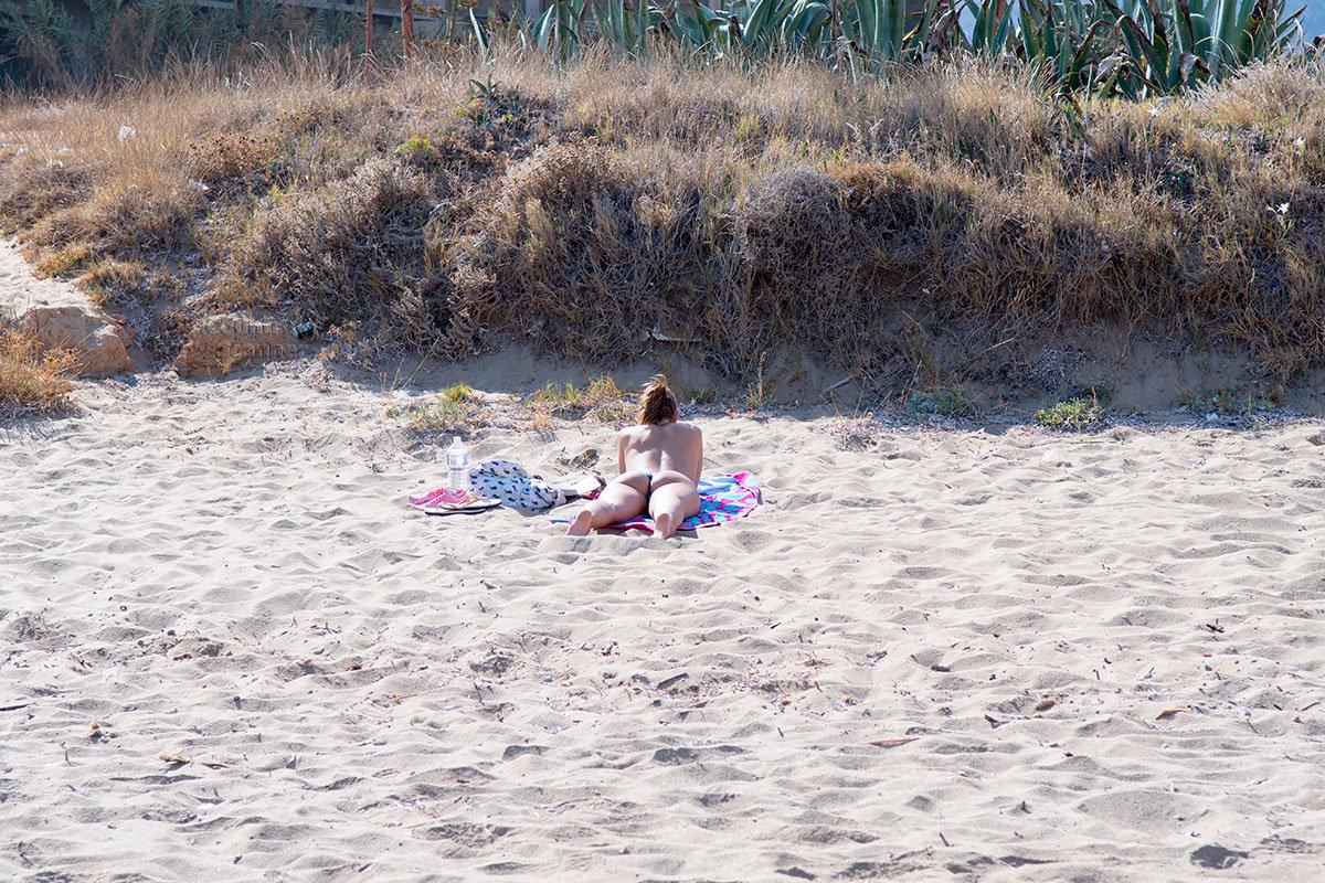 Уединенный уголок пляжа Малья