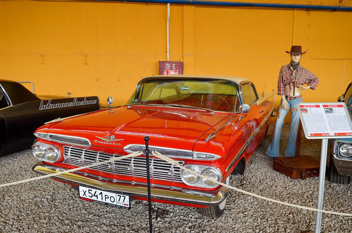 Американская мечта – автомобиль Шевроле Импаза выпускался почти 40 лет, один из 13 миллионов экземпляров имеет музей Московский транспорт.