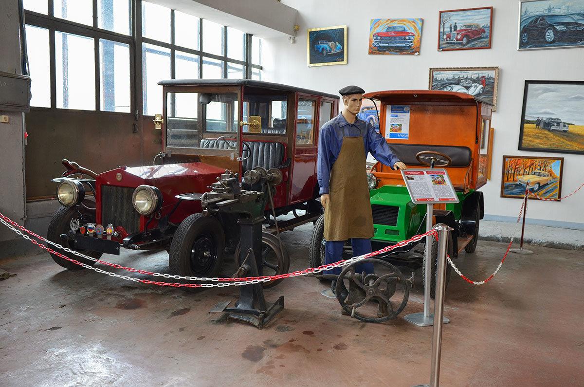 Музей Московский транспорт демонстрирует своим посетителям не только авто, выпущенные промышленностью, но и самоделки.