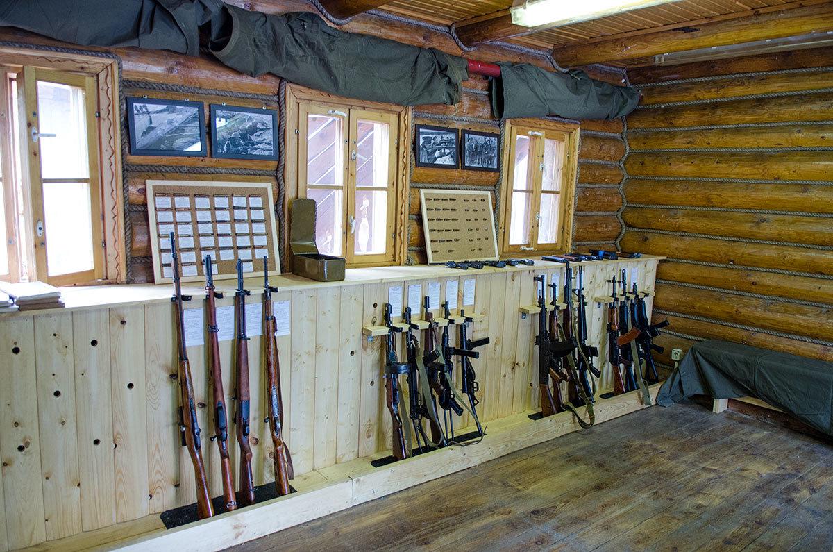 Музей оружия в Измайловском кремле демонстрирует несколько десятков образцов стрелкового вооружения прошлого века.