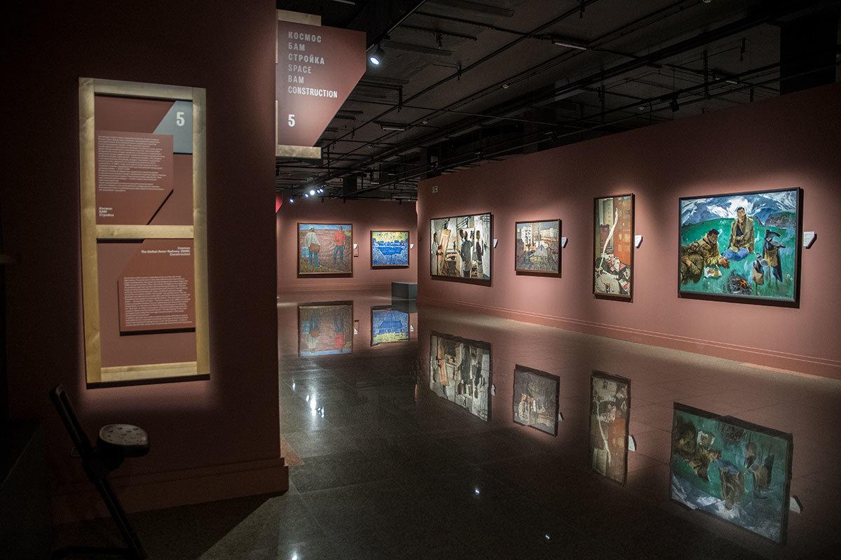 Своими зеркальными полами институт русского реалистического искусства удивляет многих музейных завсегдатаев.