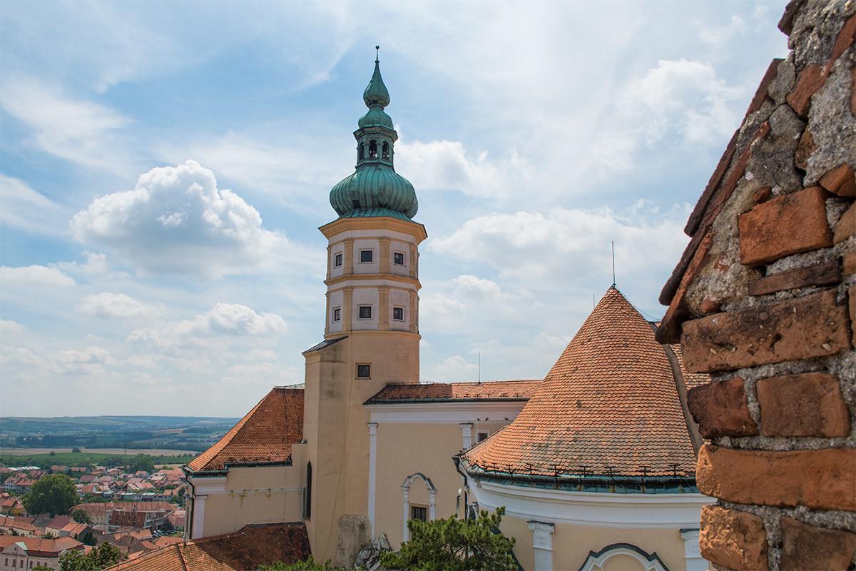 Обои поля, Облака, сверху, Zlechov, дома, чехия. Города foto 18