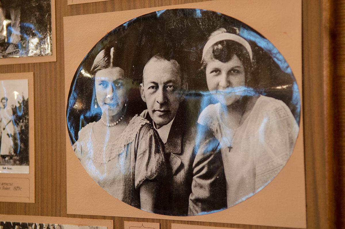 Семейные фотографии в различные периоды жизни составляют основу экспозиции в музей Аренского, Лядова и Рахманинова.