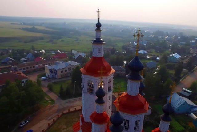 Новость 17-04-2018 Город Тотьма включили в список самых красивых городов РФ