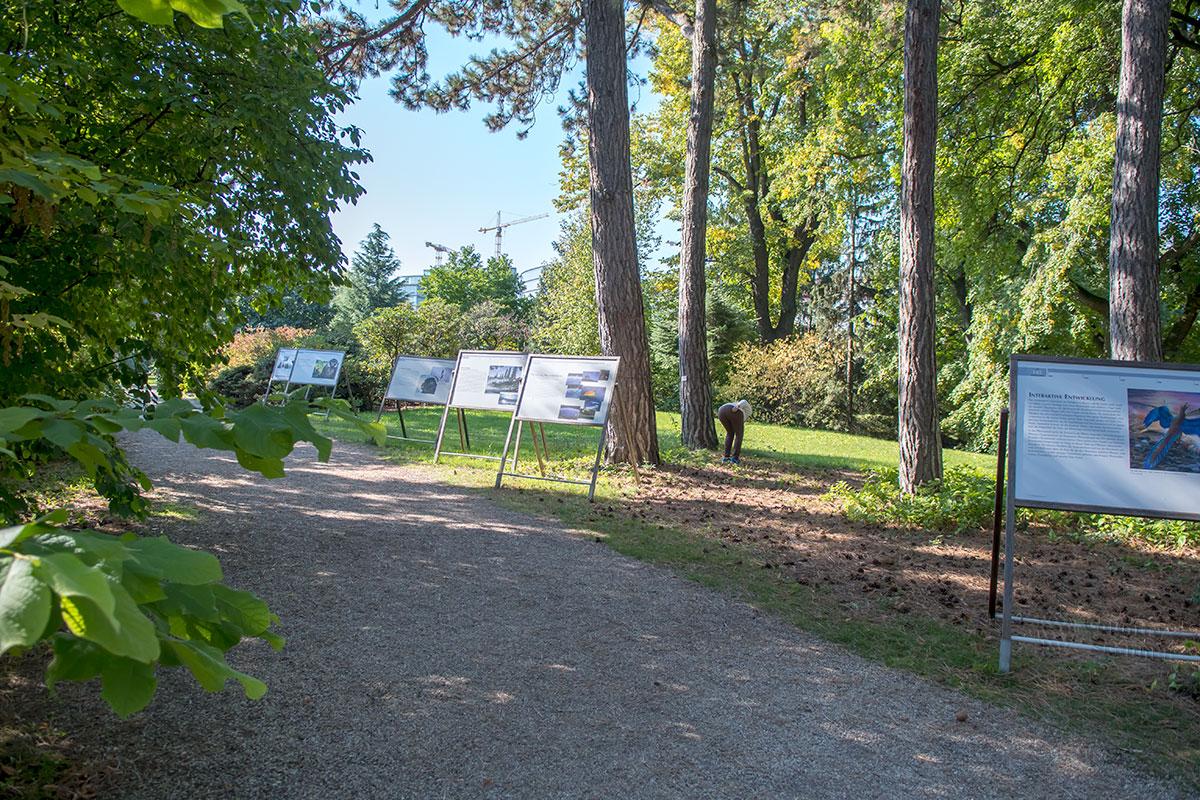 Ботанический сад Венского университета считает своей основательницей знаменитую императрицу Марию Терезию при участии ее лекаря.