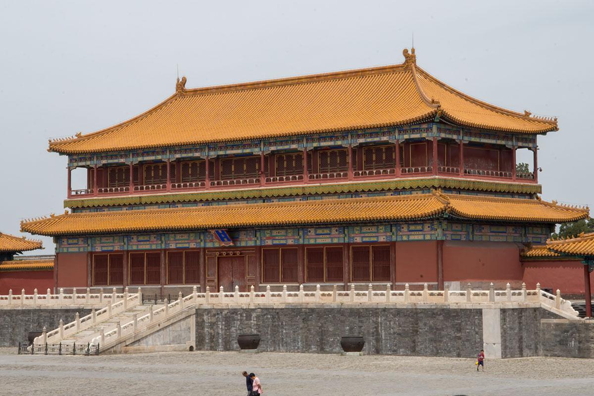 Императорская Канцелярия во Внешнем дворе Запретного города размешается в здании классической китайской архитектуры.