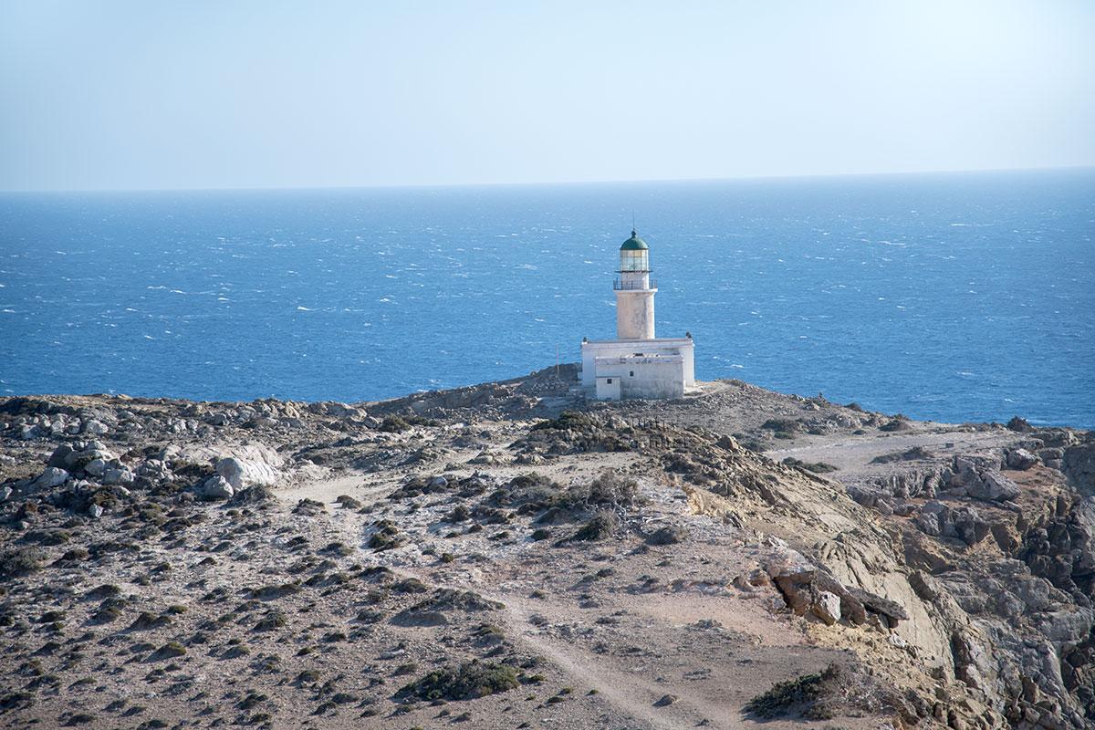 На южной оконечности Парсониси находится один из двух родосских маяков, построенный еще в позапрошлом столетии.