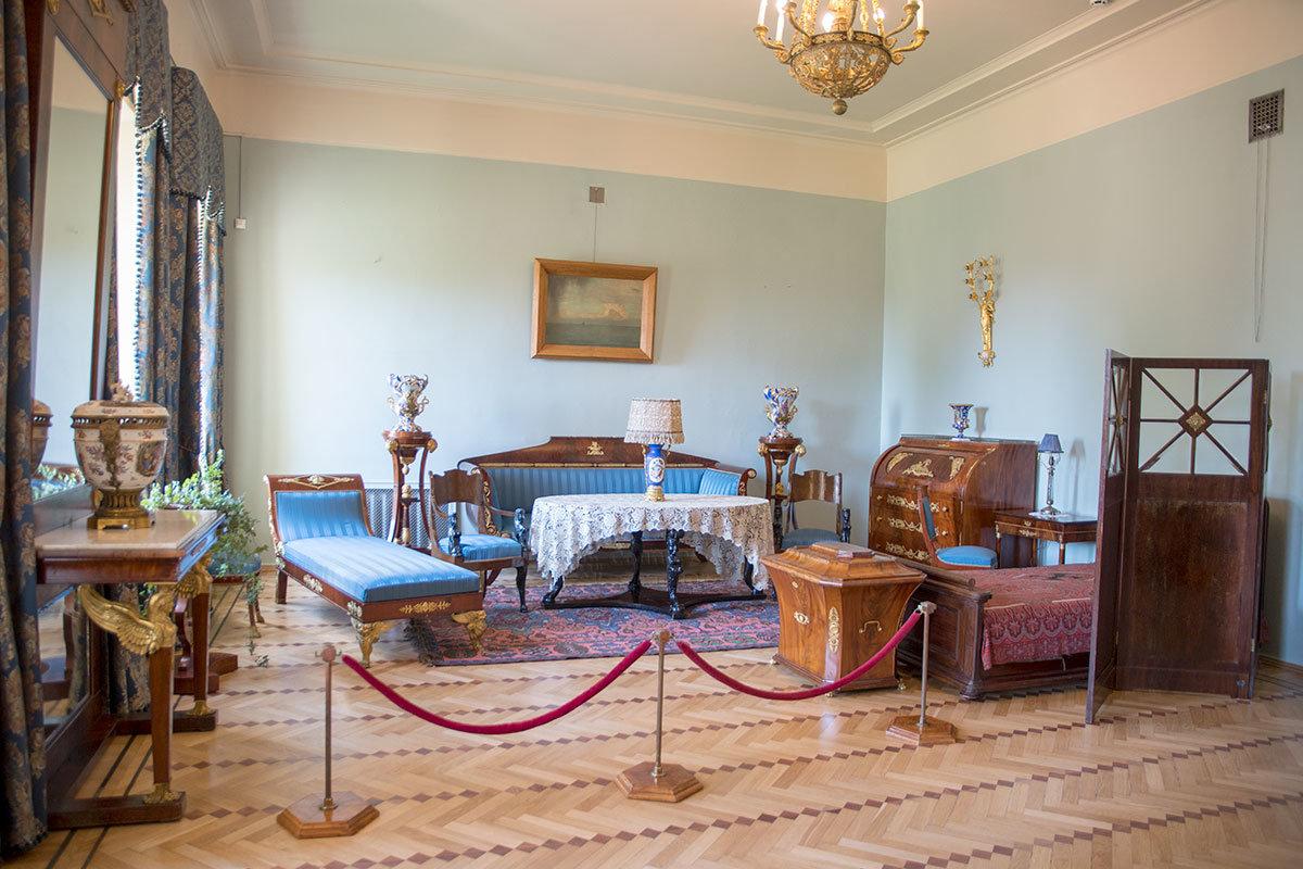 Музей-усадьба Ленина в Горках включила в экспозицию личные покои прежней владелицы имения Зинаиды Морозовой.