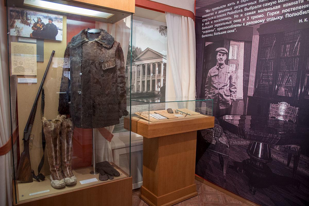 Проблески советской пропаганды Музей-усадьба Ленина в Горках намеренно оставила в экспозиции для исторической достоверности.