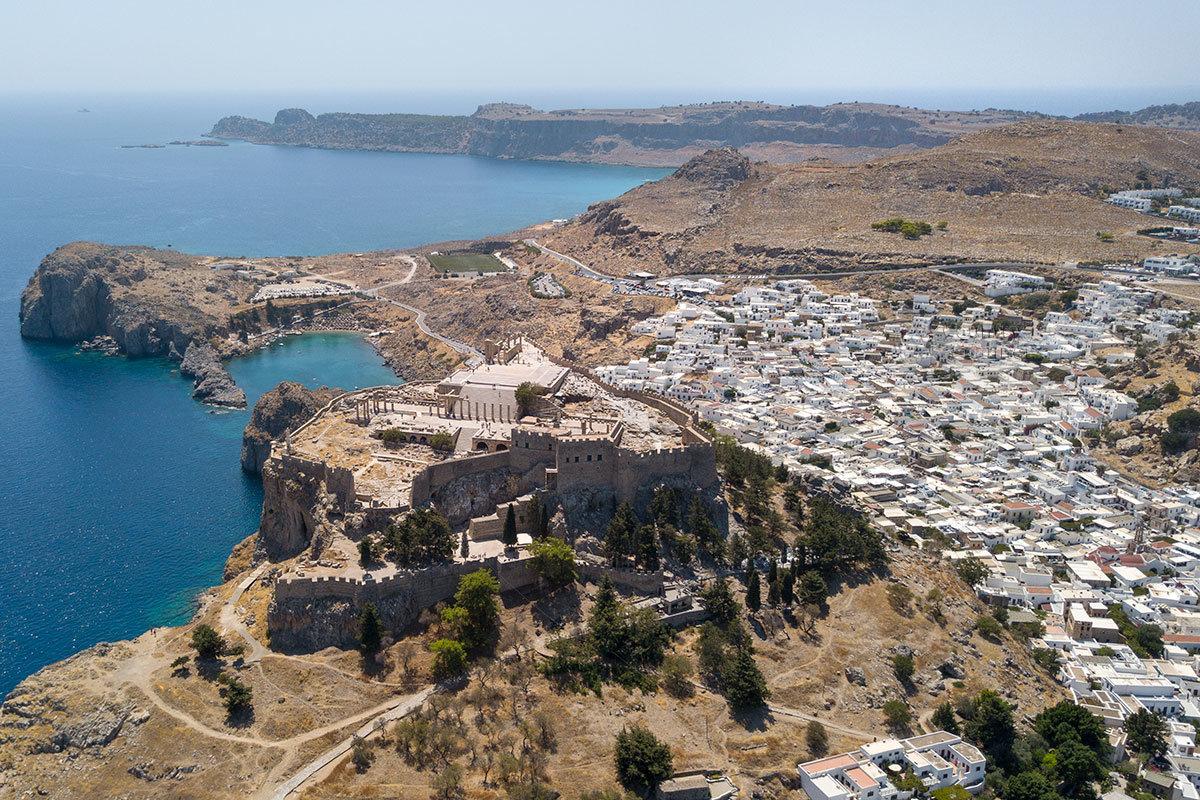 Публикация о селении Линдос на острове Родос может несколько разочаровать читателей, наслышанных о здешнем Акрополе.