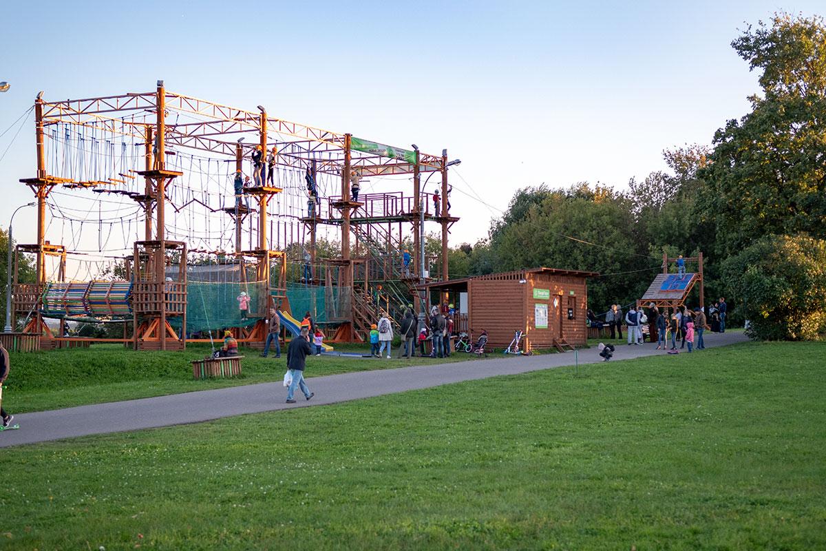 Музей-заповедник Коломенское предоставил часть свободной территории под детский Панда-парк.
