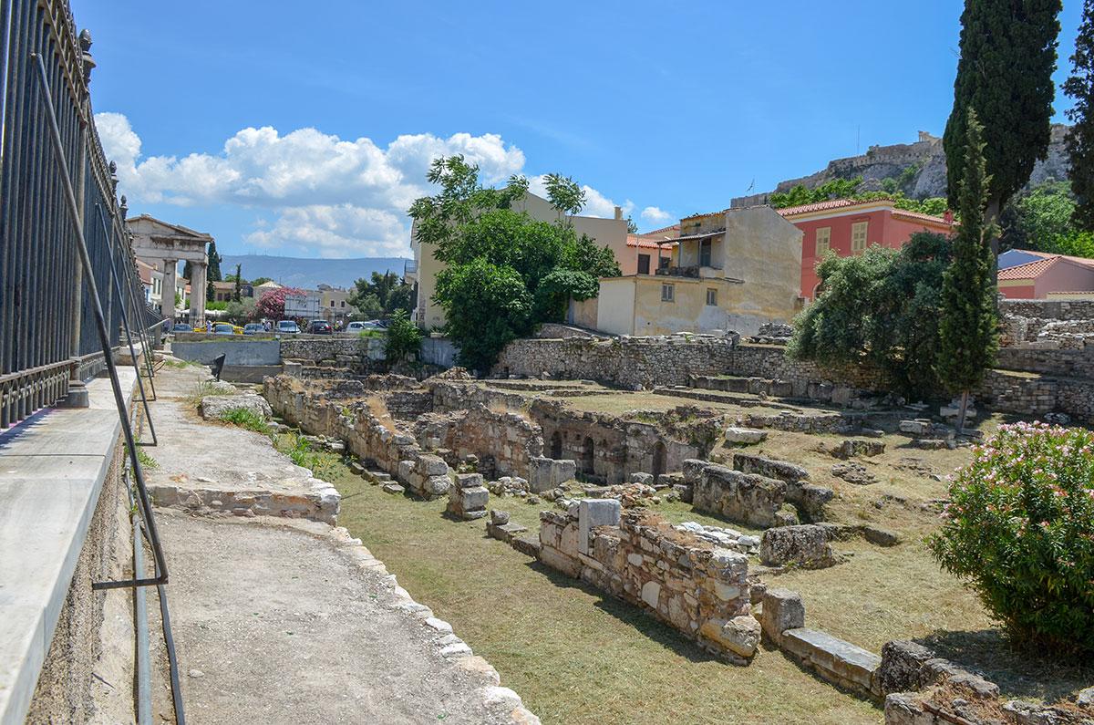 В современном состоянии Библиотека Пантаинос выглядит аналогично другим сохраняемым без реставрации археологическим раскопкам.