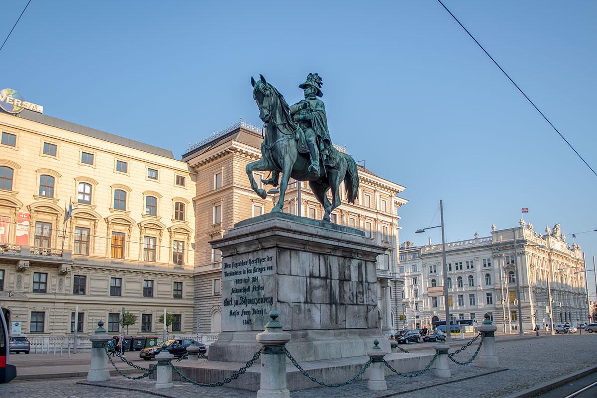 Такими монументами, как памятник Карлу Шварценбергу в австрийской столице, воспитывается патриотизм и национальная гордость, что достойно уважения.