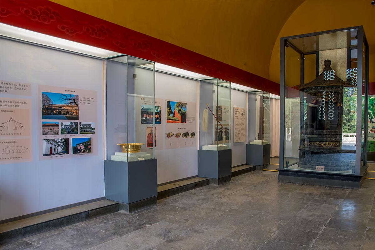 Большинство посещений в зданиях Дворца Воздержания превращены в выставочные павильоны по истории молитвенной церемонии.