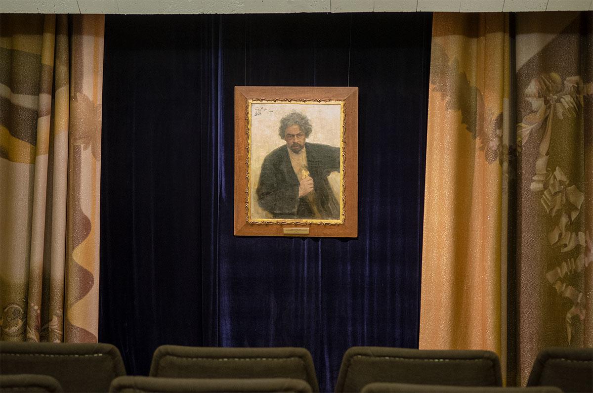 С ноября 2018 года пензенский Музей одной картины выставляет полотно Ильи Репина – Портрет священника Г.С. Попова из собрания местной картинной галереи.